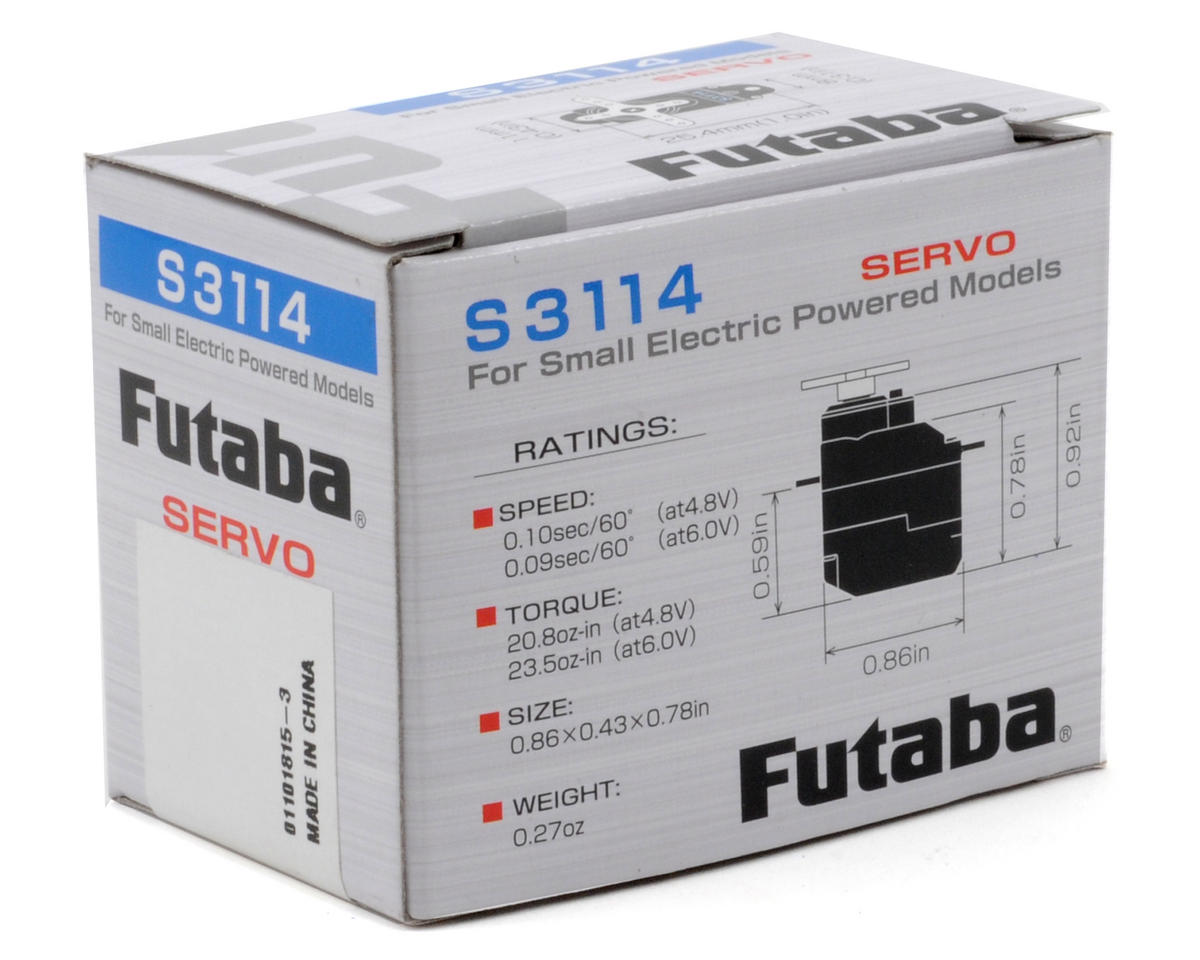 Image 3 for Futaba S3114 Micro High Torque Servo