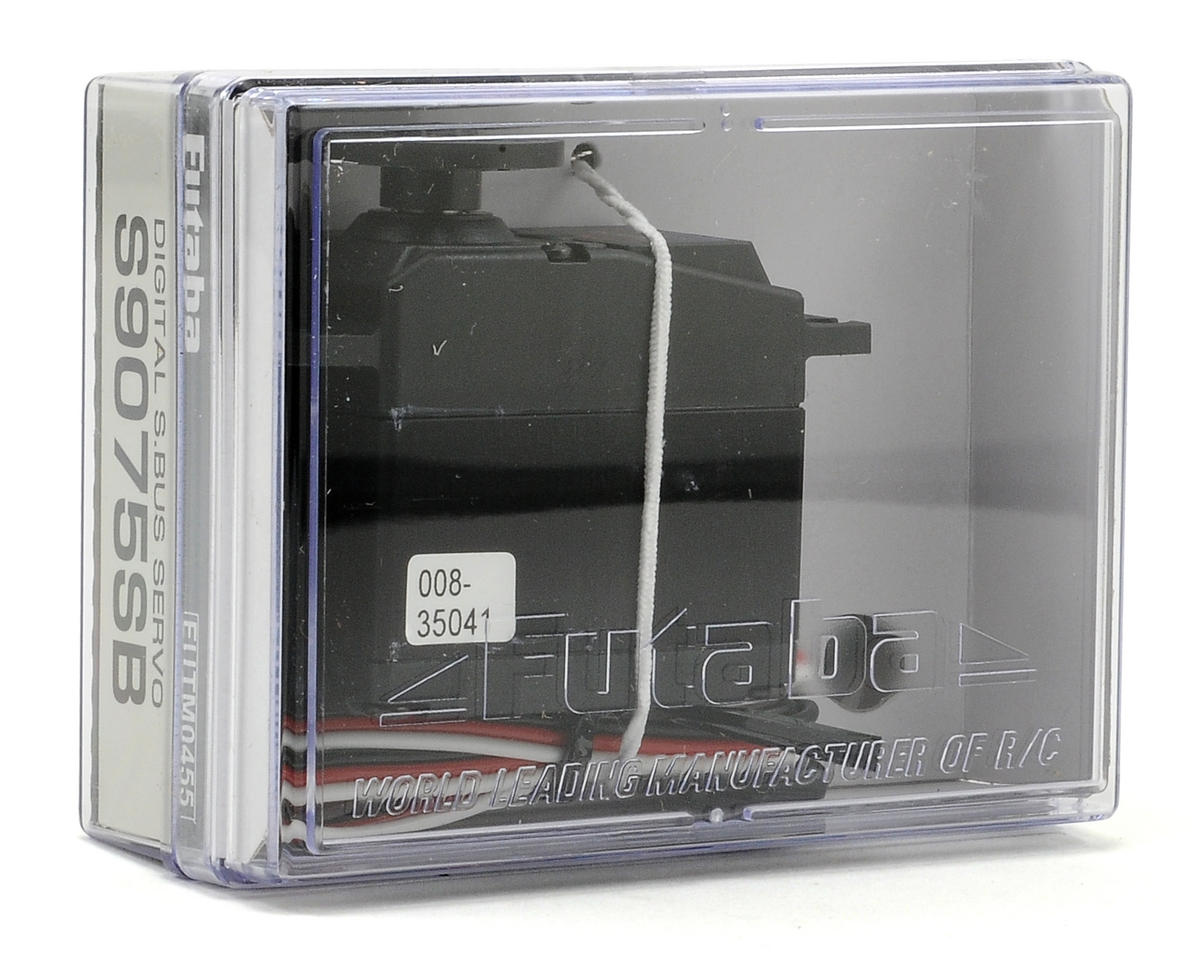 Futaba S9075SB S.Bus Programable Digital Hi Torque Metal Gear Servo