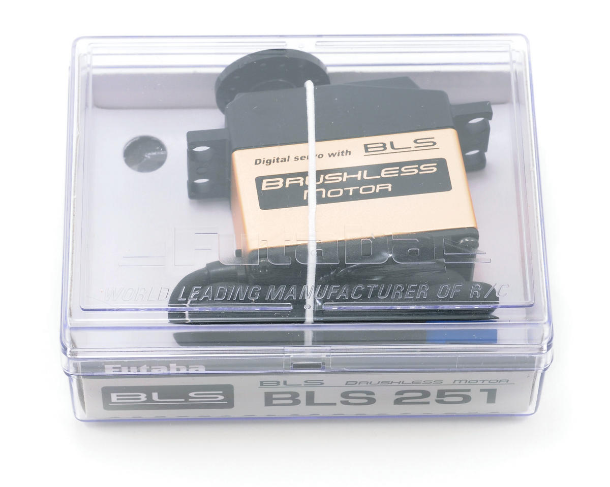 Futaba BLS251 Digital Brushless Helicopter Tail Servo