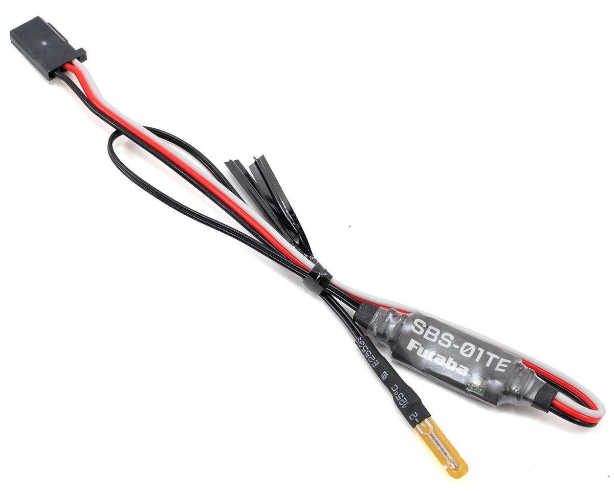 Futaba SBS-01TE Electric Temperature Telemetry Sensor