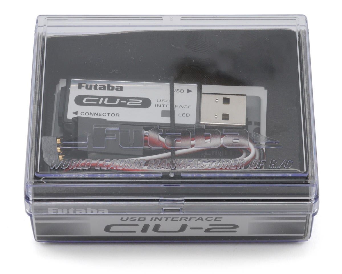 Futaba CIU-2 PC Interface for GY520/MC850/601C/401CR