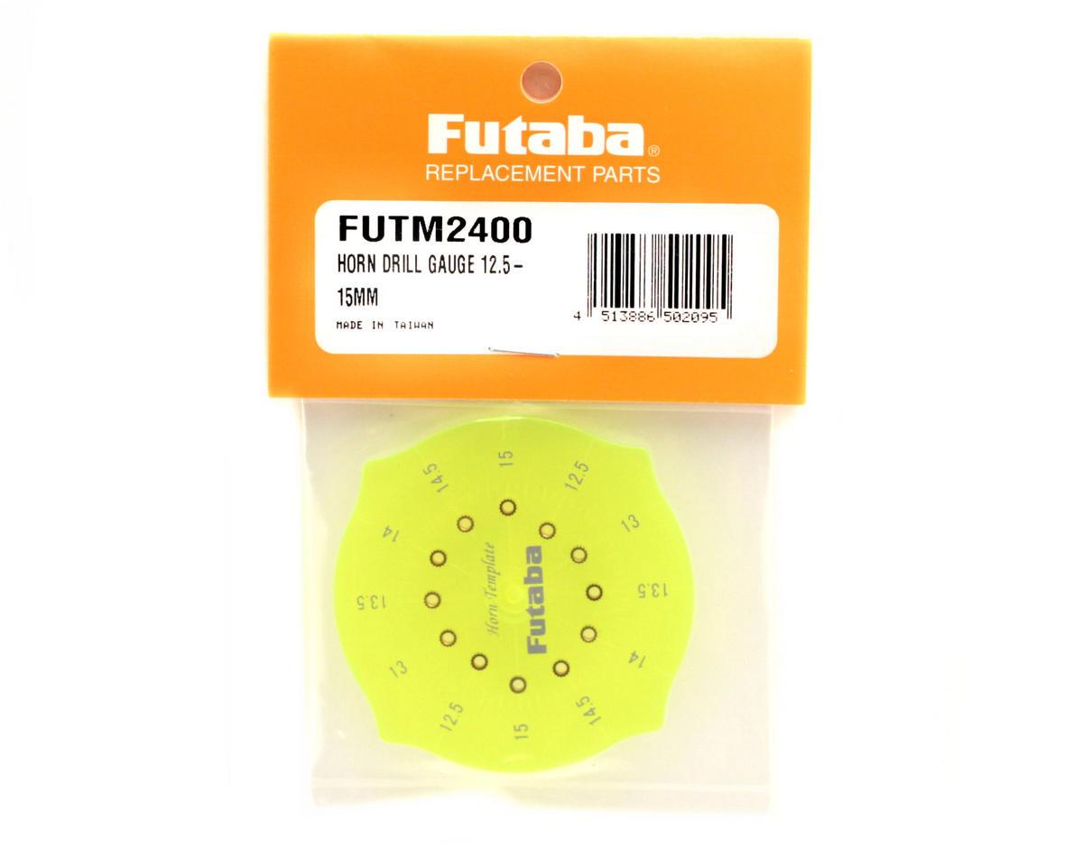 Futaba Horn Drill Gauge 12.5 - 15mm