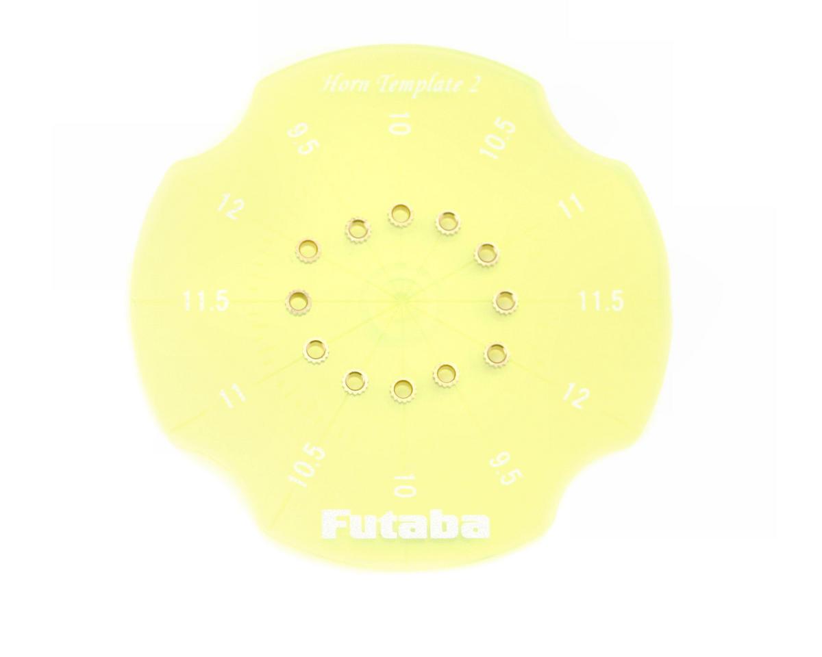 Futaba Horn Drill Gauge 9.5 - 12mm