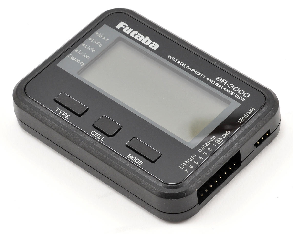 BR3000 Battery Checker by Futaba
