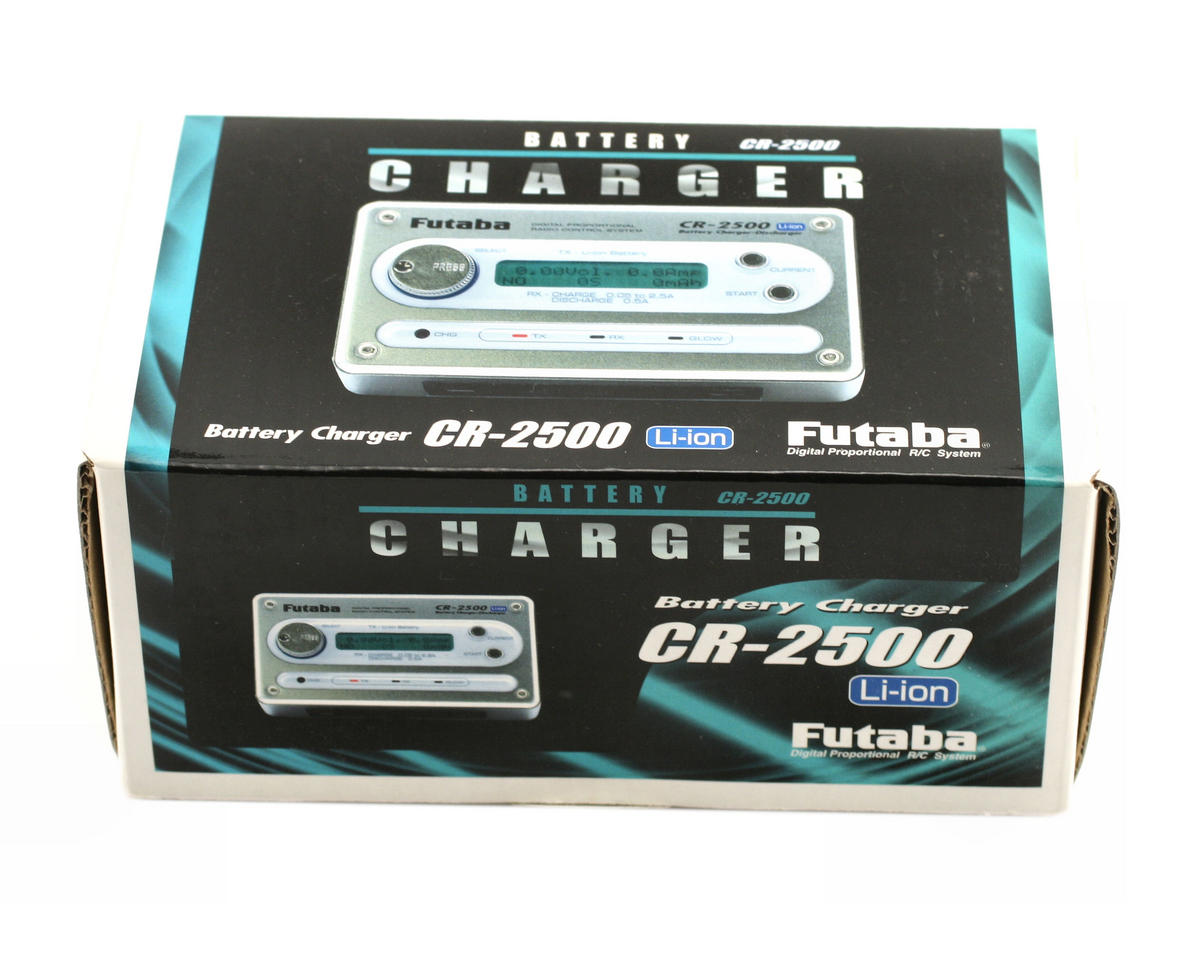 CR-2500 Li-Ion 14MZ Transmitter/Receiver Charger by Futaba