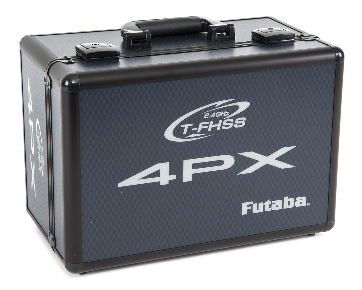 4PX Metal Transmitter Carrying Case by Futaba