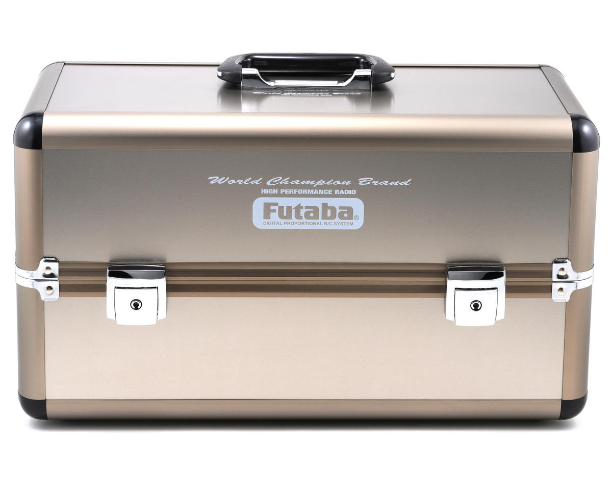 Futaba Aero Team Metal Double Transmitter Case