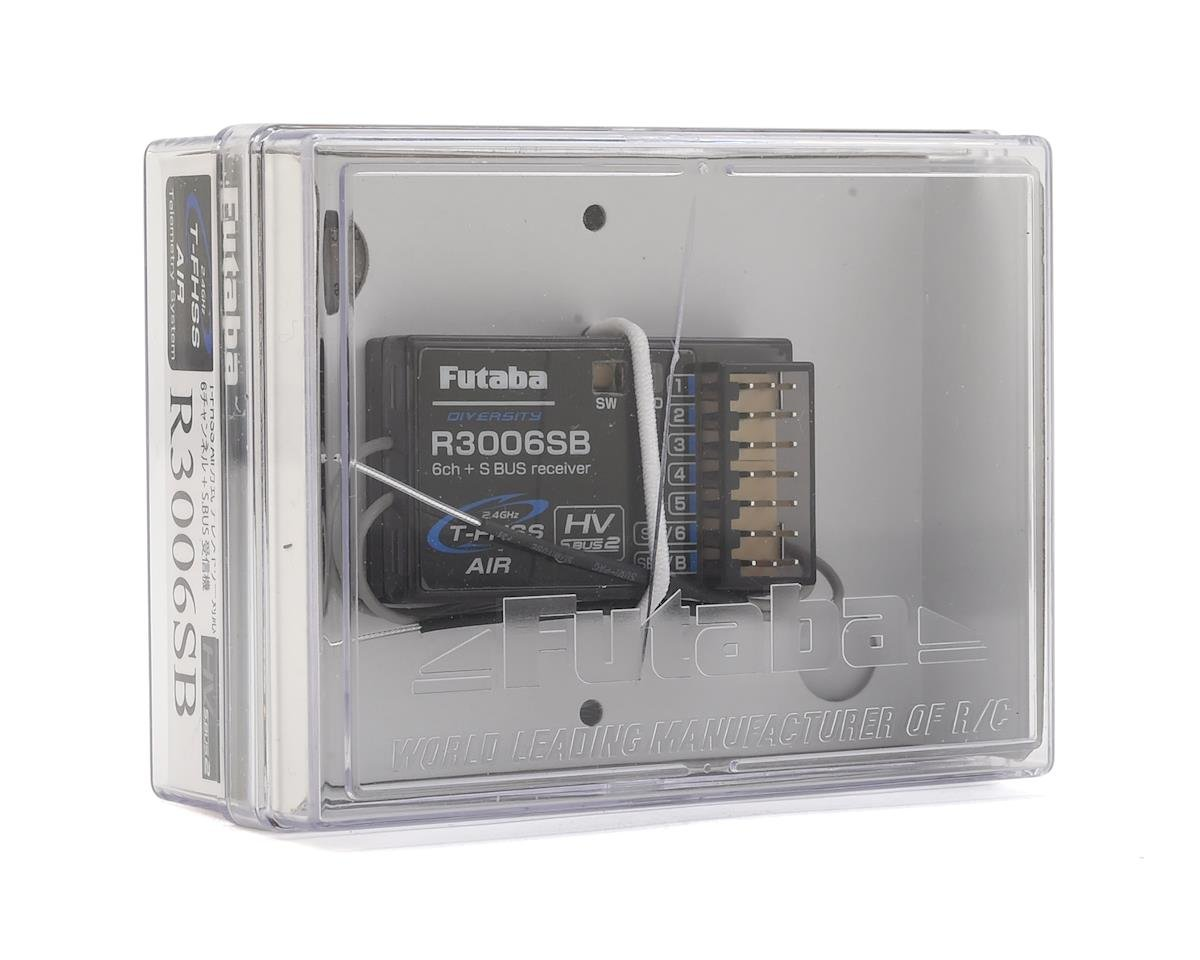 Futaba R3006SB T-FHSS S.Bus 6-Channel 2.4GHz Receiver