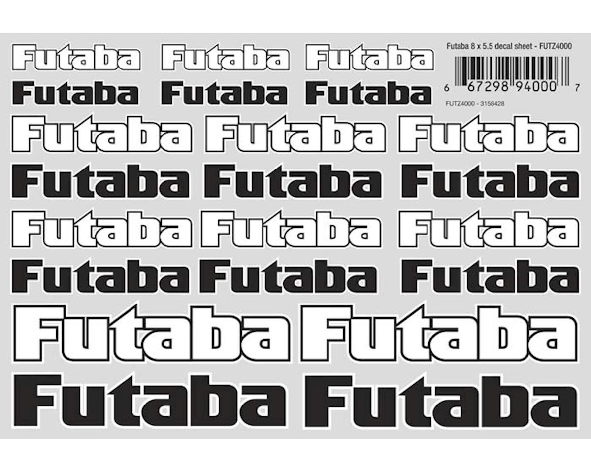 Futaba Surface Decal Sheet 8x5.5""