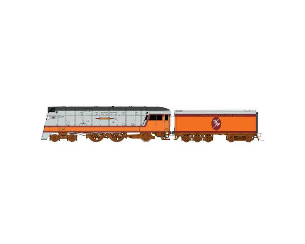 HO Hiawatha 4-4-2 MILW Indian Logo #1