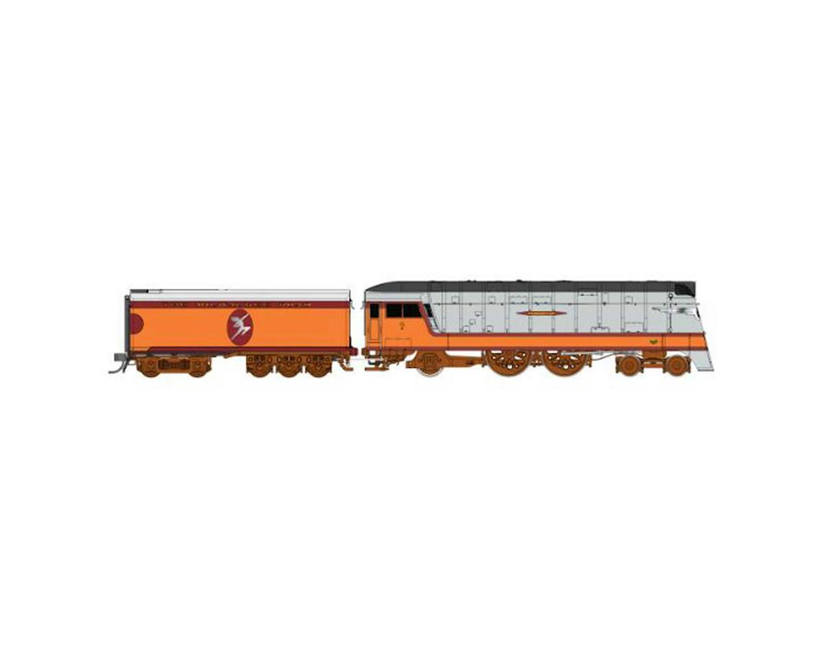 Fox Valley Models HO Hiawatha 4-4-2, MILW/Half Moon #4