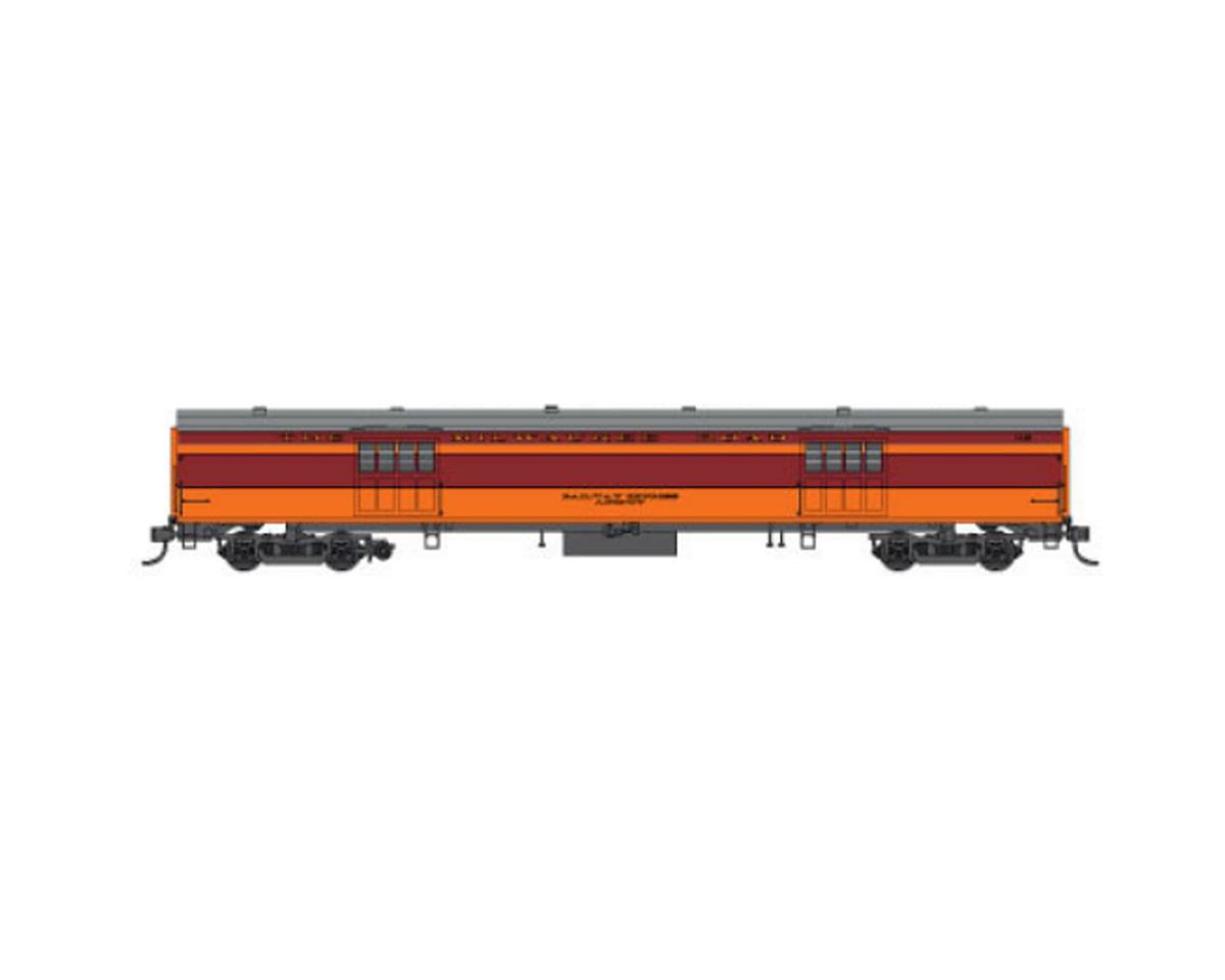 Fox Valley Models N Hiawatha Express Car, MILW #1121