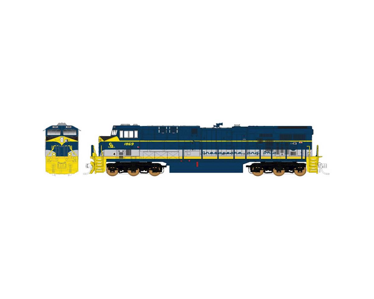 Fox Valley Models N ES44AC, CSX/C&O Heritage | relatedproducts