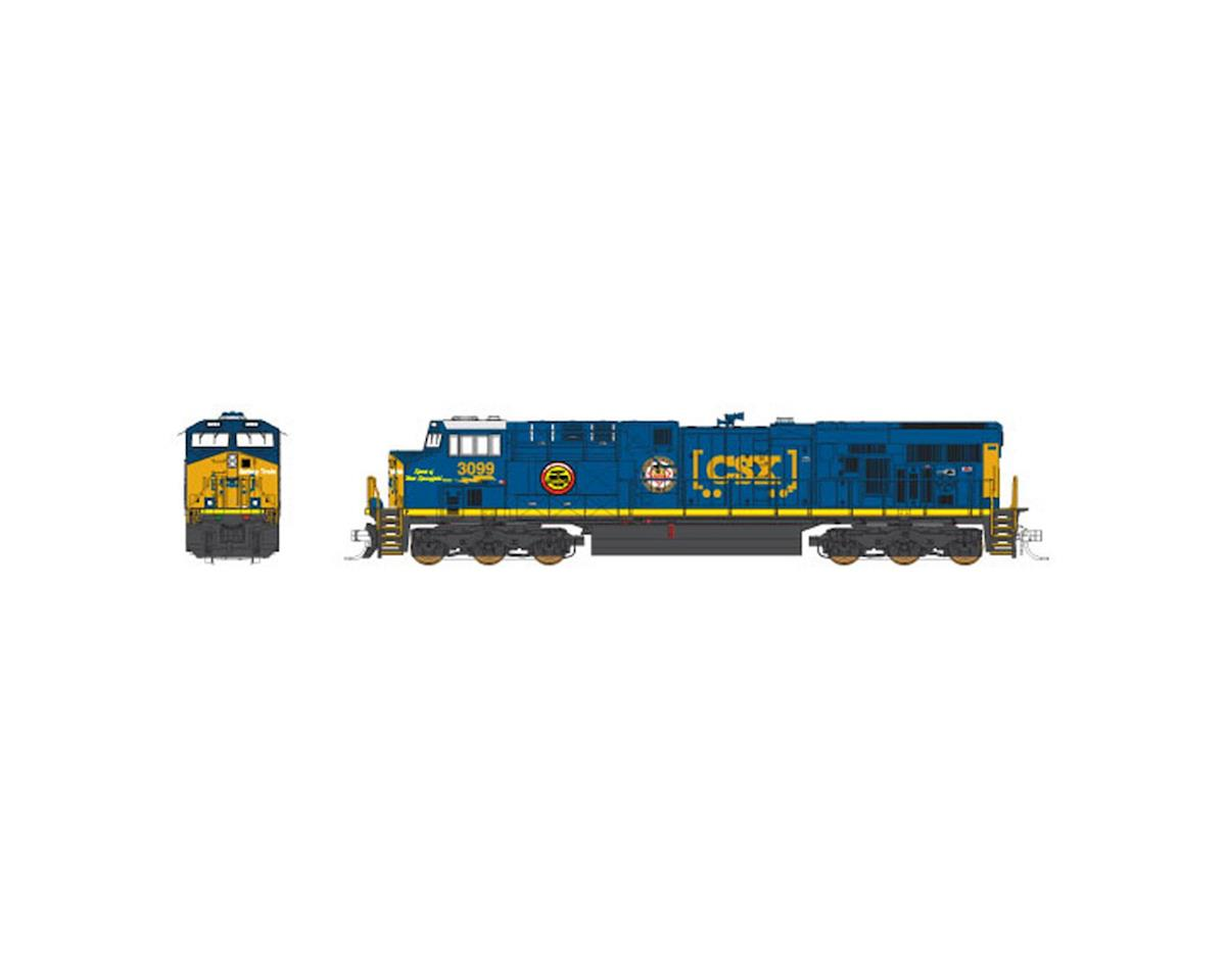 N ES44AC CSX Safety Sprit of West Springfield#3026