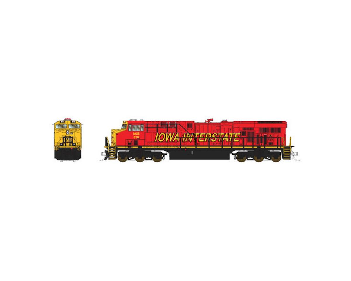 Fox Valley Models N ES44AC, IAIS/Red/Yellow #516