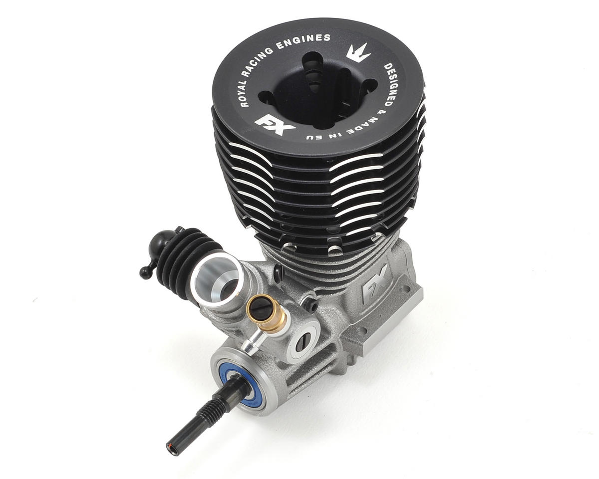 K5 DC .21 Off-Road Engine w/Ceramic Bearing (Turbo) by FX Engines