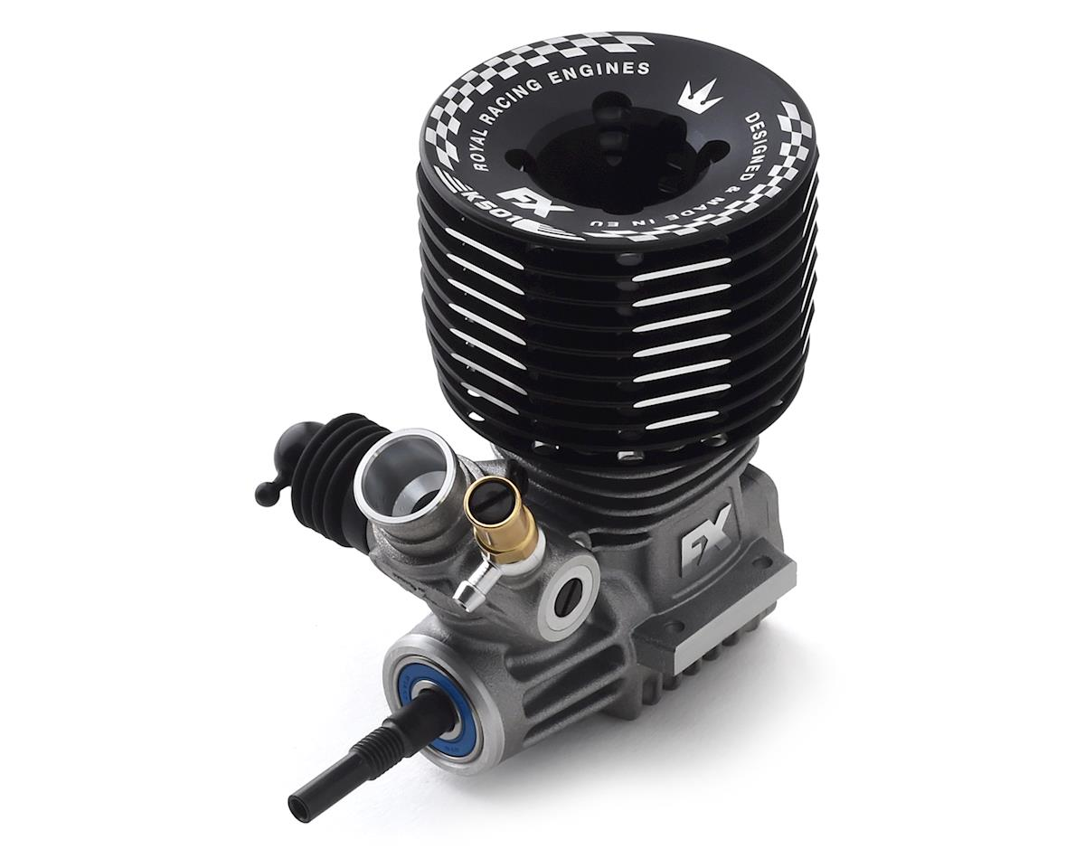 FX Engines K501 DLC .21 5-Port Off-Road Buggy Engine w/Ceramic Bearing (Turbo)