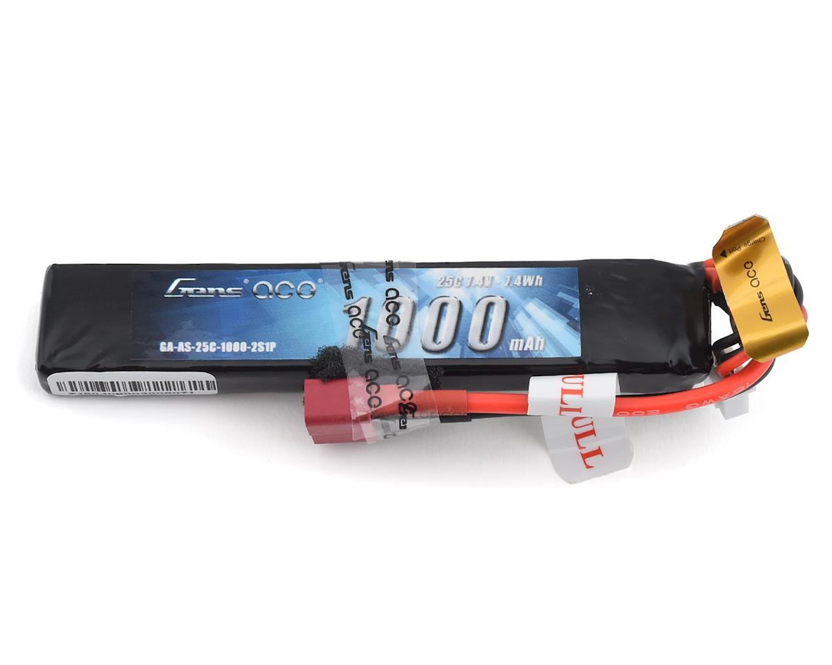 Gens Ace 2S 25C Airsoft LiPo Battery w/Deans Plug (7.4V/1000mAh)