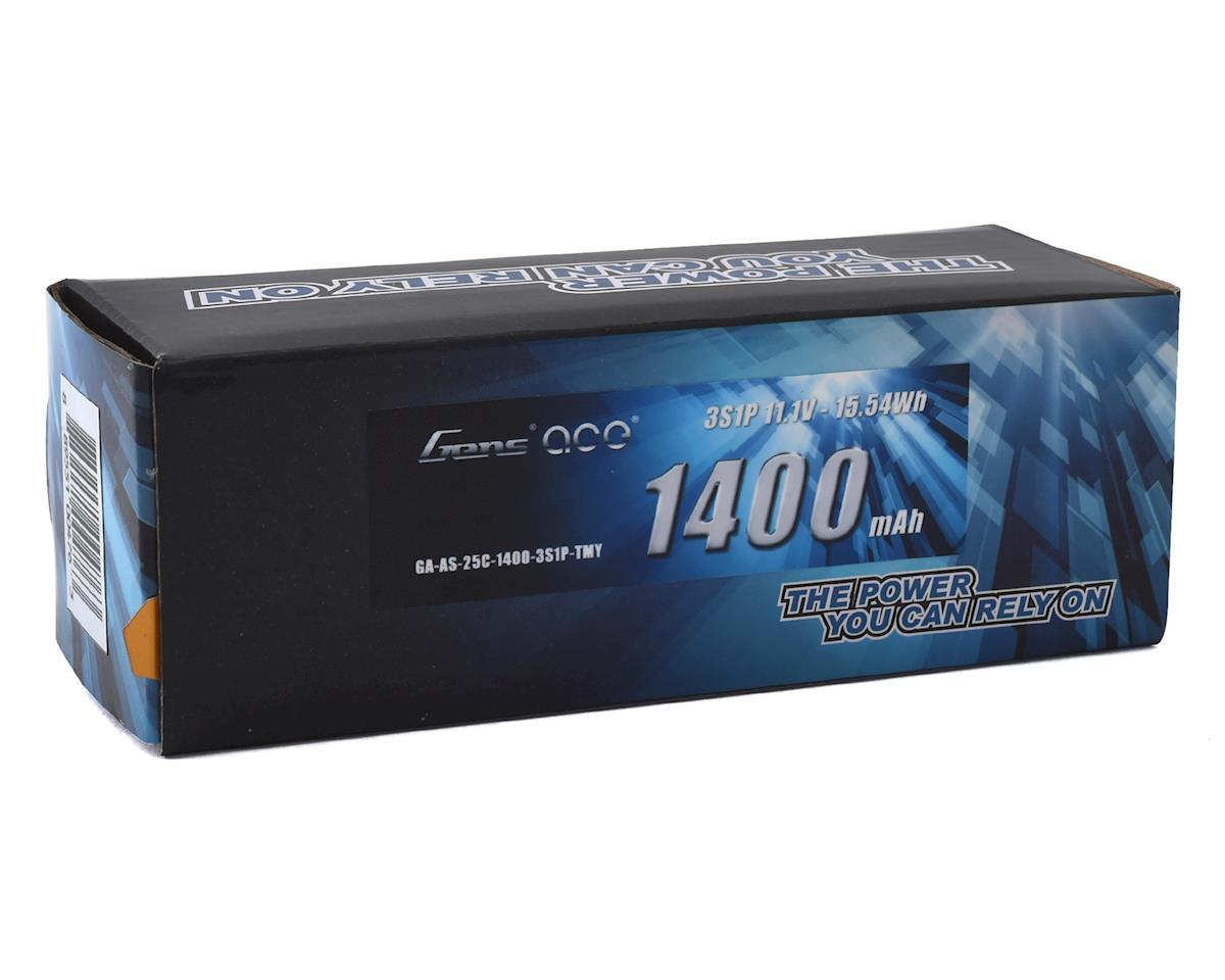 Gens Ace 3S 25C Airsoft LiPo Battery w/Mini Tamiya Plug (11.1V/1400mAh)