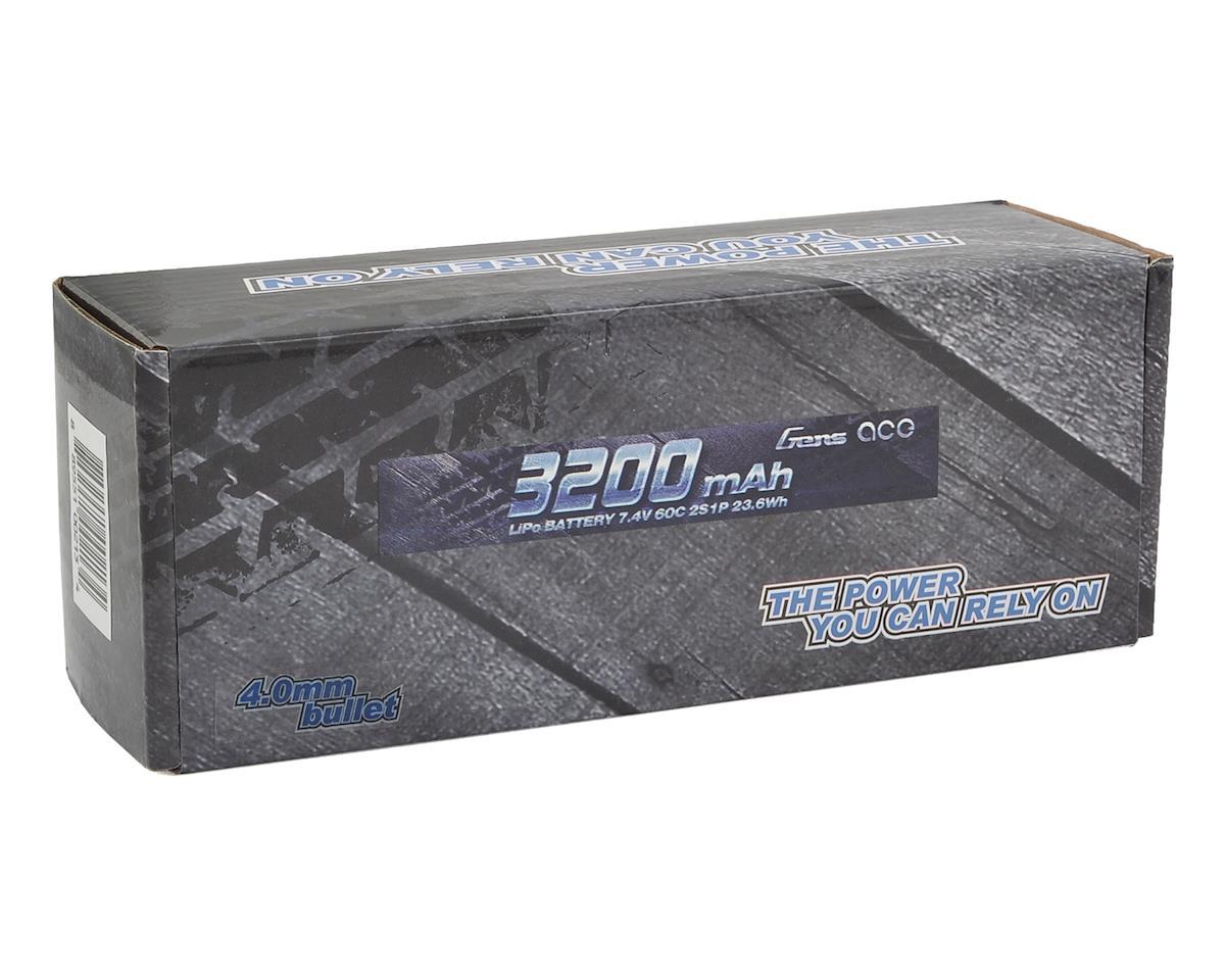Gens Ace 2s LiPo Battery Pack 60C (7.4V/3200mAh)