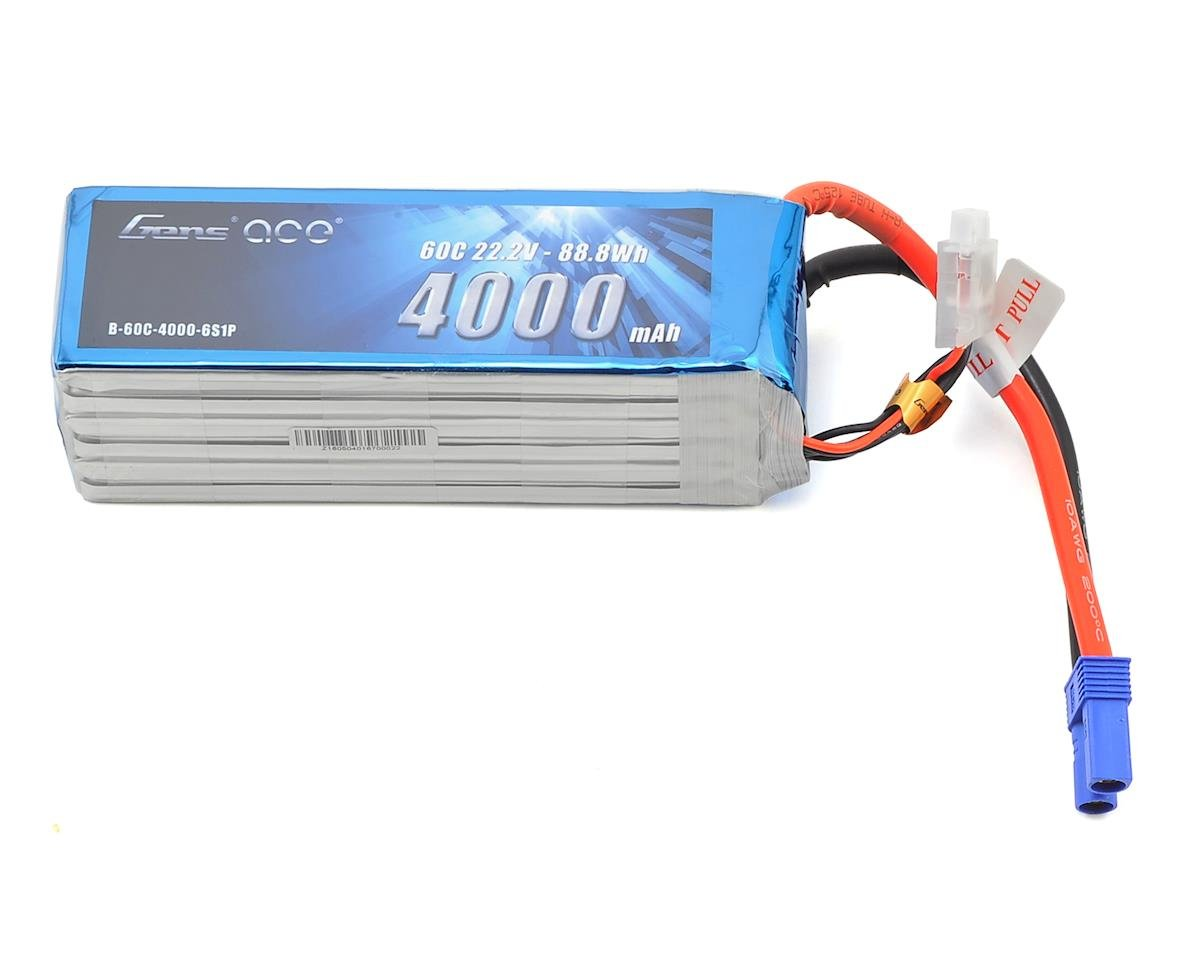 Gens Ace 6s LiPo Battery 60C (22.2V/4000mAh)