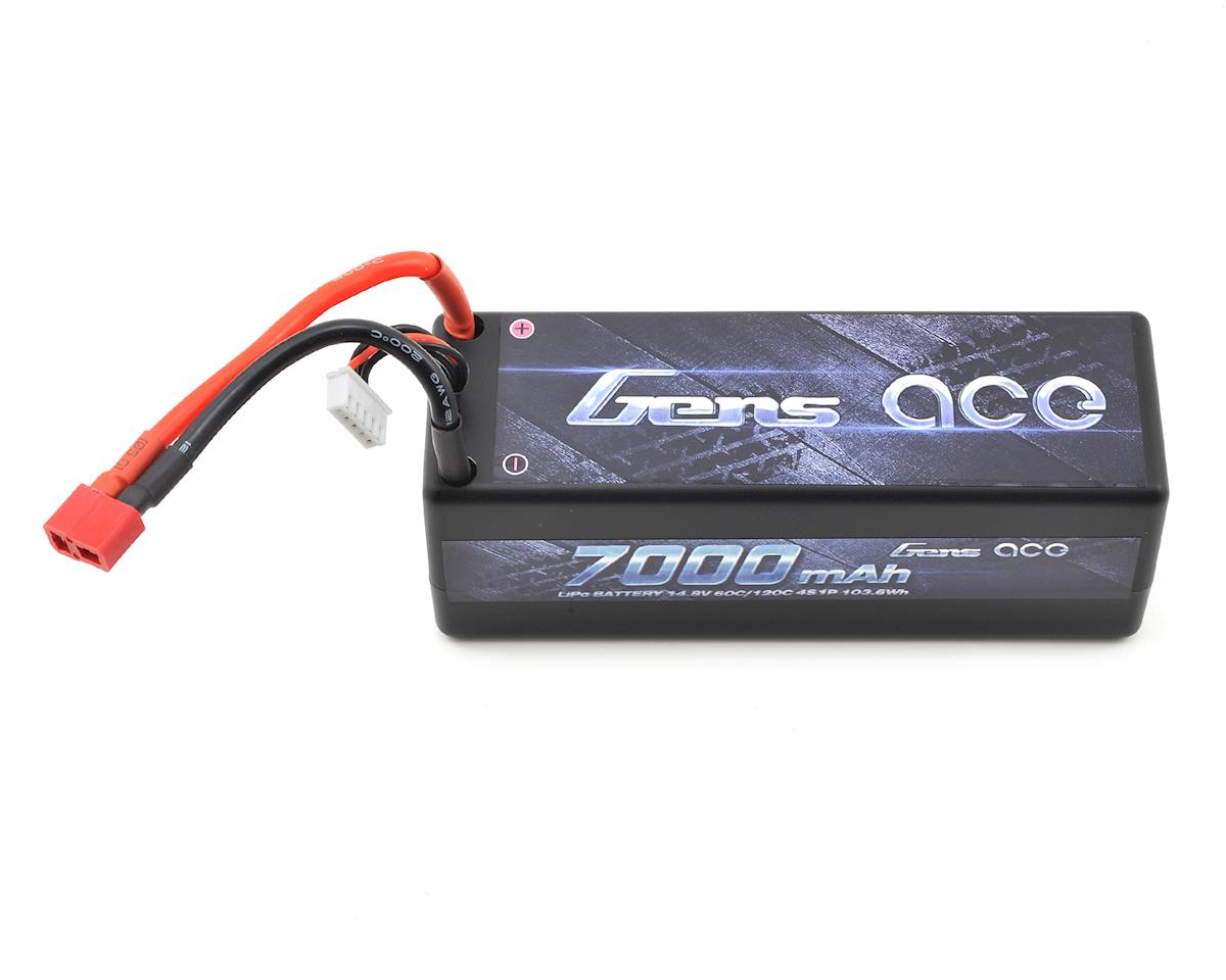 Gens Ace 4s LiPo Battery Pack 60C w/T-Style Plug (14.8V/7000mAh)