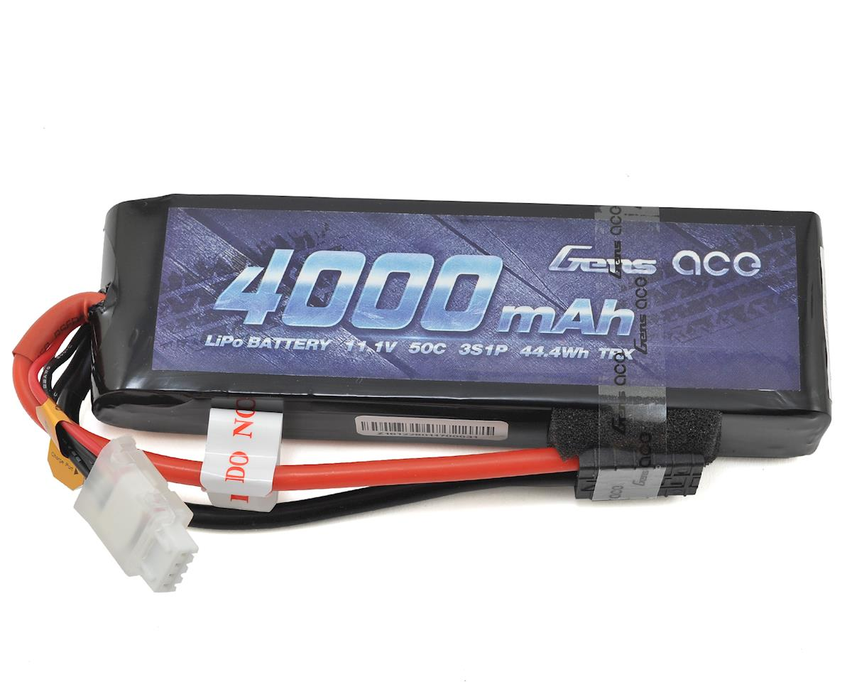 Gens Ace 3s LiPo Battery Pack 50C w/TRX Connector (11.1V/4000mAh) (Traxxas Slash)
