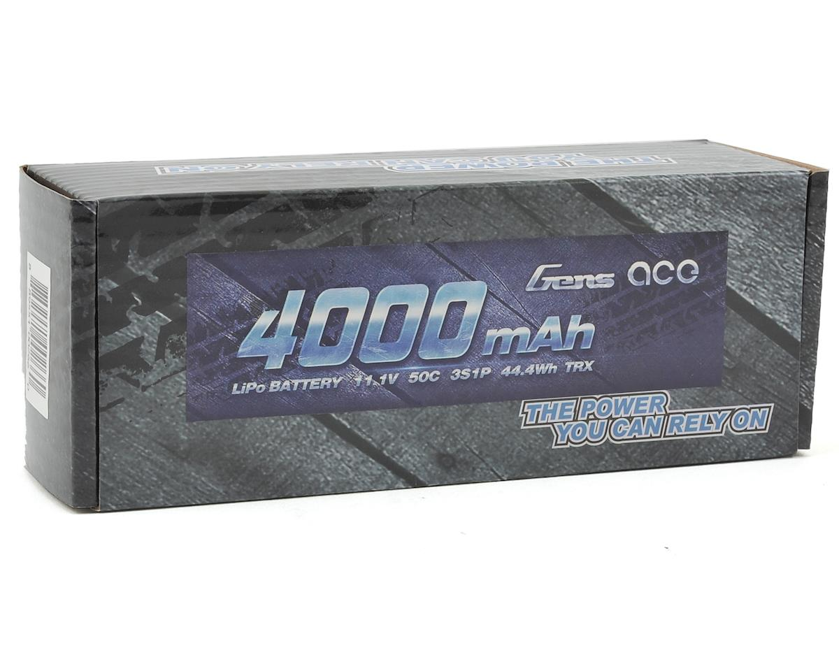 Gens Ace 3s LiPo Battery Pack 50C w/TRX Connector (11.1V/4000mAh)