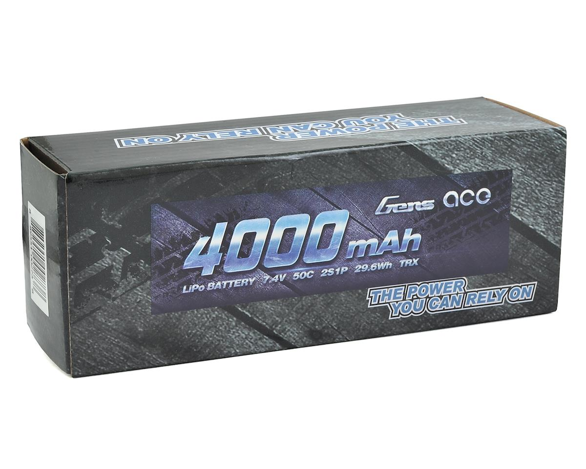 Gens Ace 2s LiPo Battery Pack 50C w/TRX Connector (7.4V/4000mAh)
