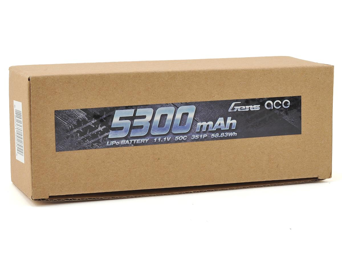 3s LiPo Battery Pack 50C w/Deans Connector (11.1V/5300mAh) by Gens Ace