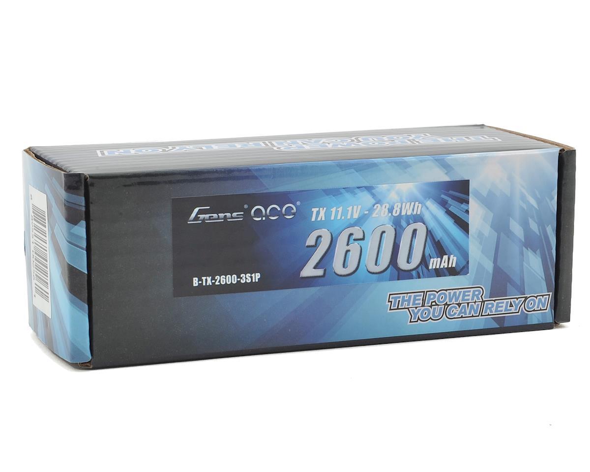 Gens Ace 3s LiPo Transmitter Battery (11.1V/2600mAh)