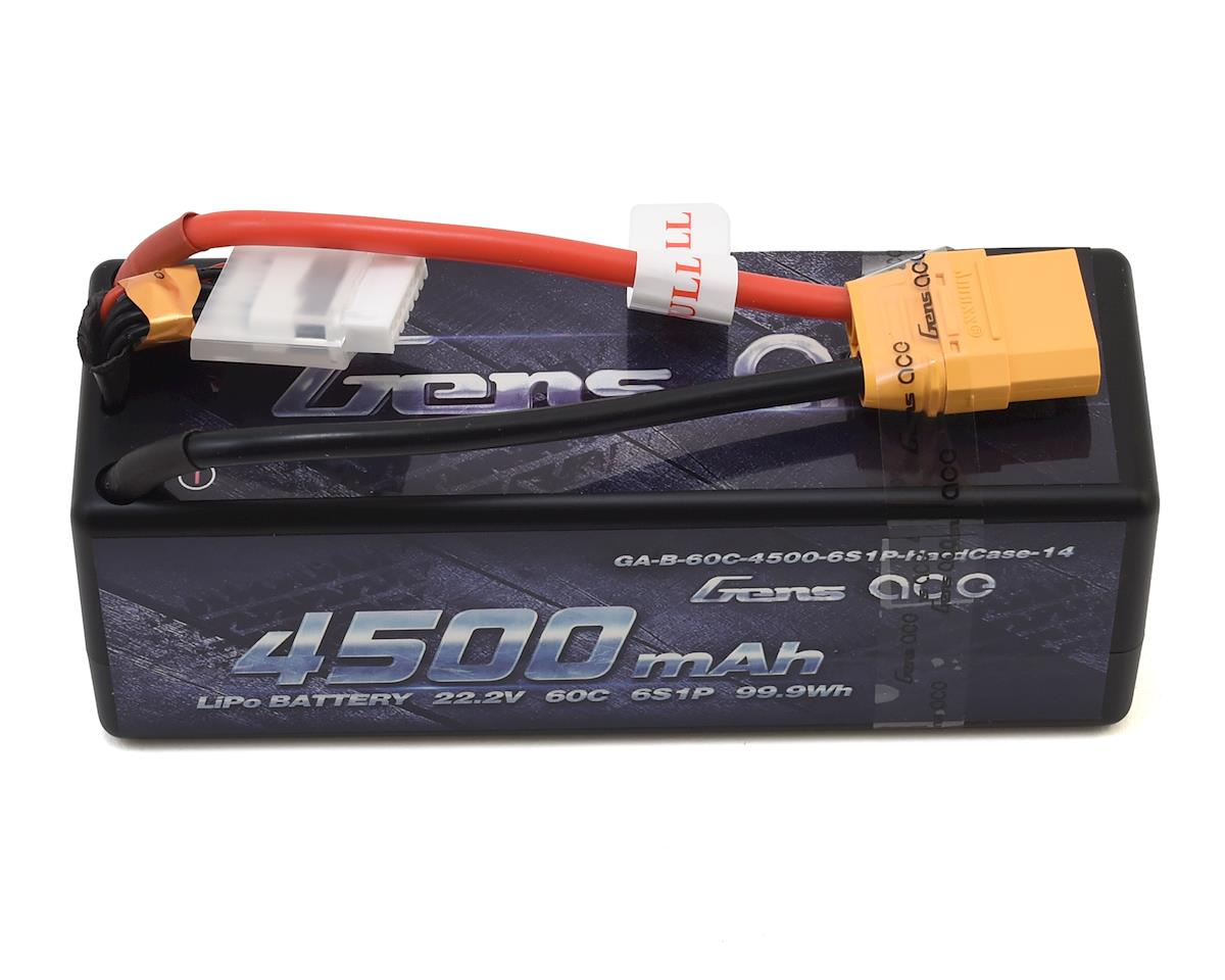 Gens Ace 6S Hard Case 60C LiPo Battery (22.2V/4500mAh) (Arrma Outcast BLX)