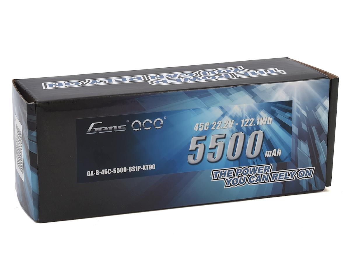 Gens Ace 6S Soft Case 45C LiPo Battery (22.2V/5500mAh)