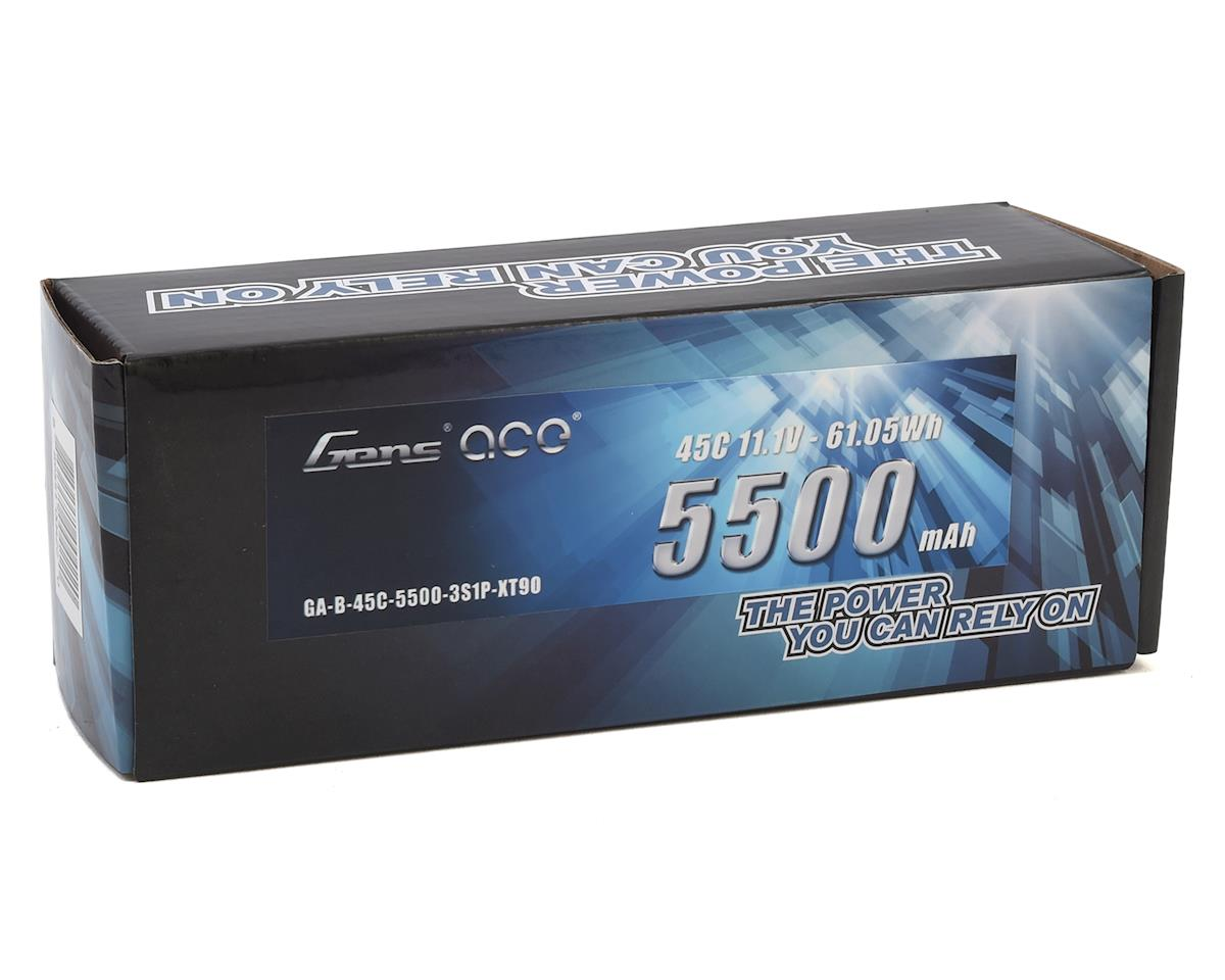 Gens Ace 3S Soft 45C LiPo Battery (11.1V/5500mAh)