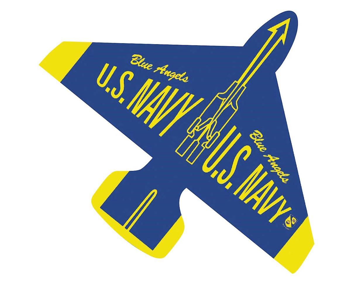 """Gayla Industries 1335 40"""" Nylon Blue Angel Jet Kite w/Twine/Winder"""