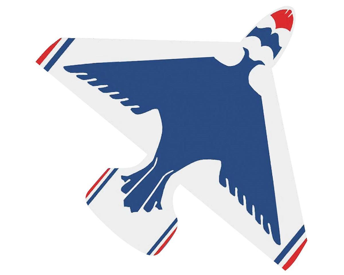 "1337 40"" Nylon Thunderbirds Jet Kite w/Twine/Winder"