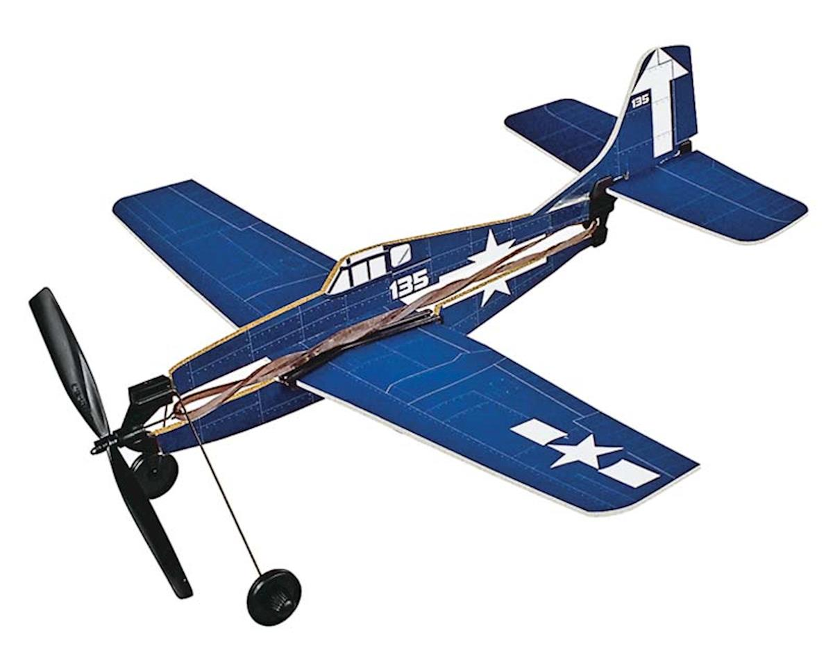 736 F6F-5 Hellcat Rubber Band Plane by Gayla Industries