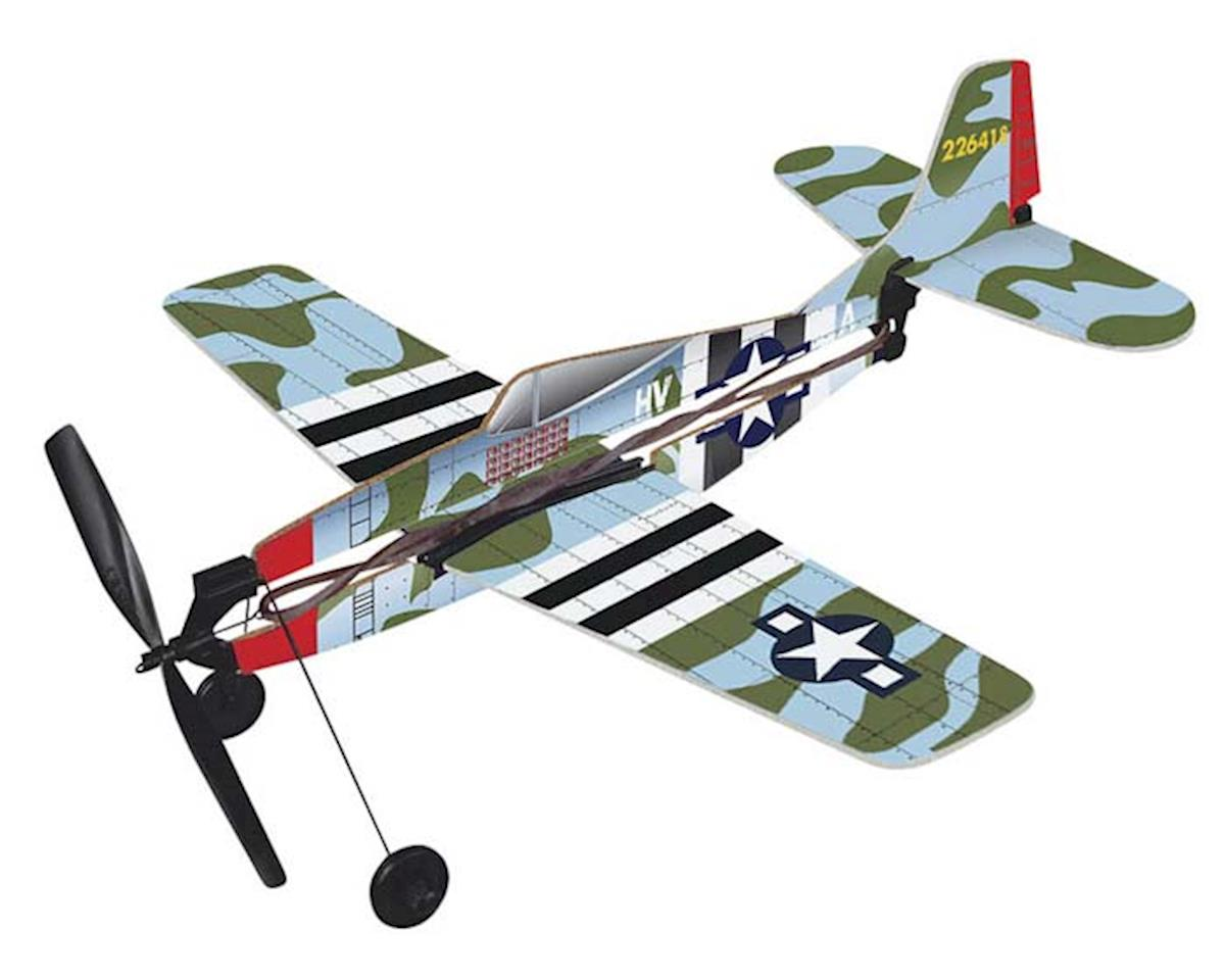 Gayla Industries 738 P-47 Thunderbolt Rubber Band Plane