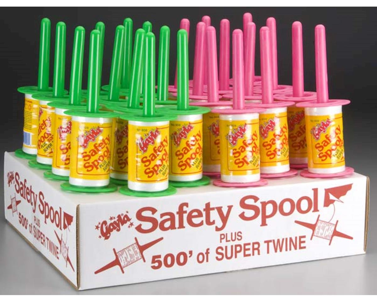 8080 Fluorescent Safety Spool Counter Display (24) by Gayla Industries