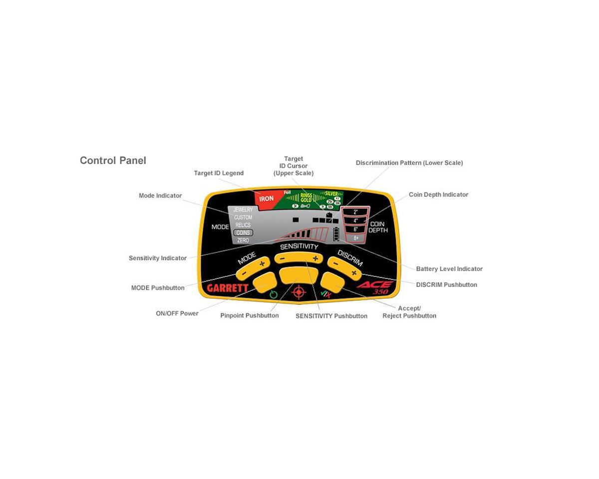 Garrett Metal Detectors Ace 350 Metal Detector