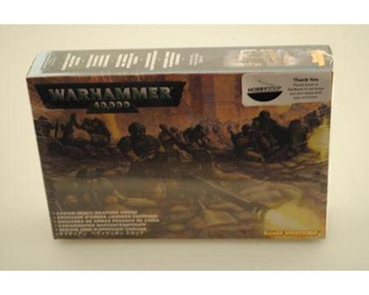 Games Workshop 40K Imp Guard Hvy Weapons 9/03