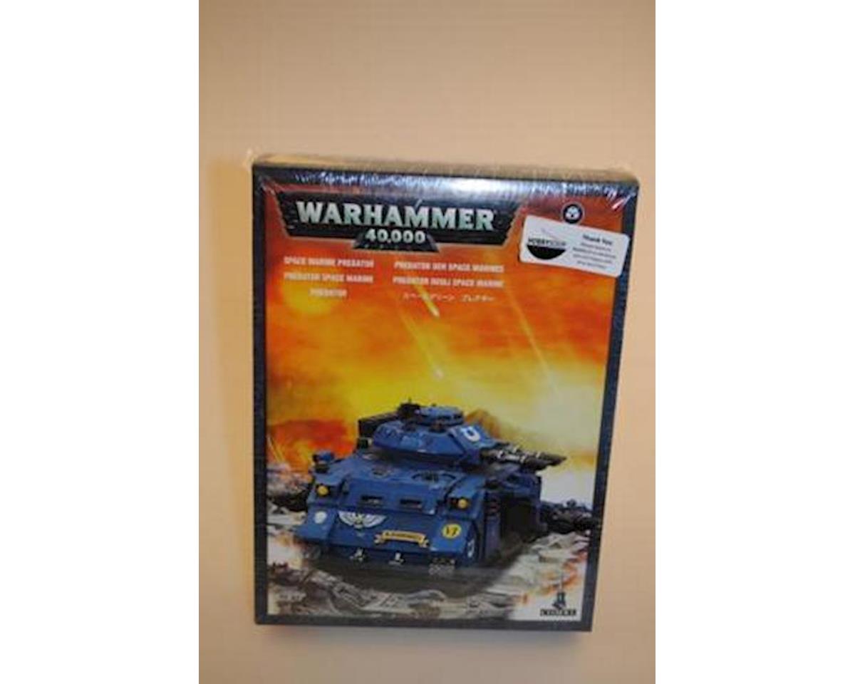 Games Workshop 40K Sp Mar Predator Tank 6/06