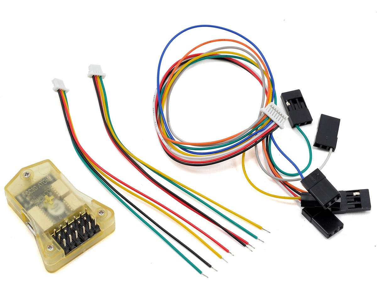 Mini CC3D Flight Controller Board (Side/Straight Pin)