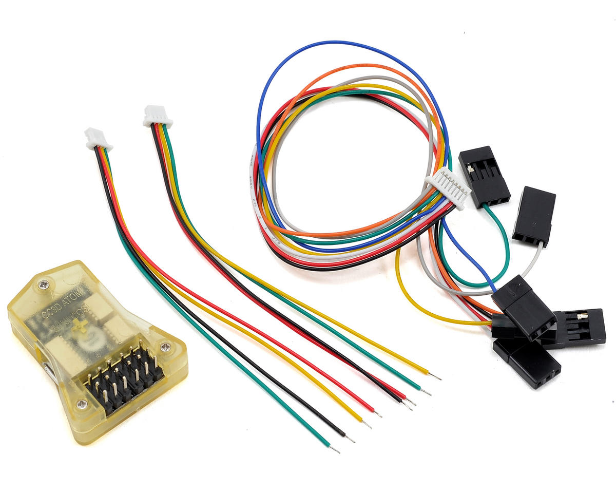 RaceTek Mini CC3D Flight Controller Board (Side/Straight Pin)
