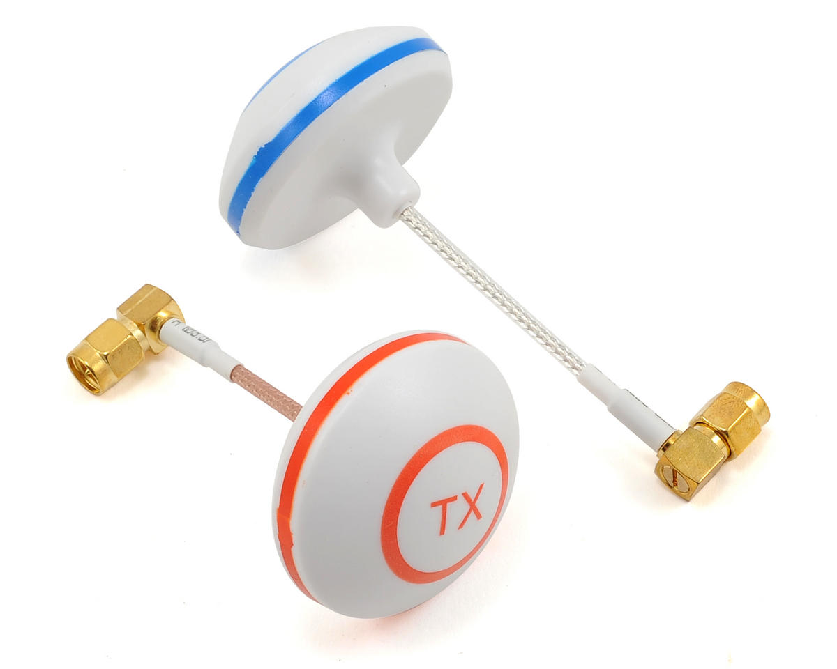 RaceTek 5.8GHz 11Dbi FPV Omnidirectional Cloverleaf Antenna  (Left, SMA, Male)