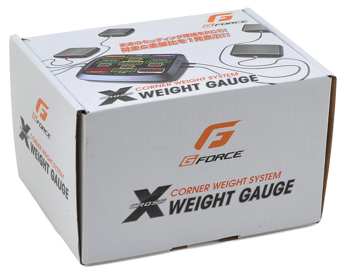 GForce X Weight 4 Scale Vehicle Weight Gauge
