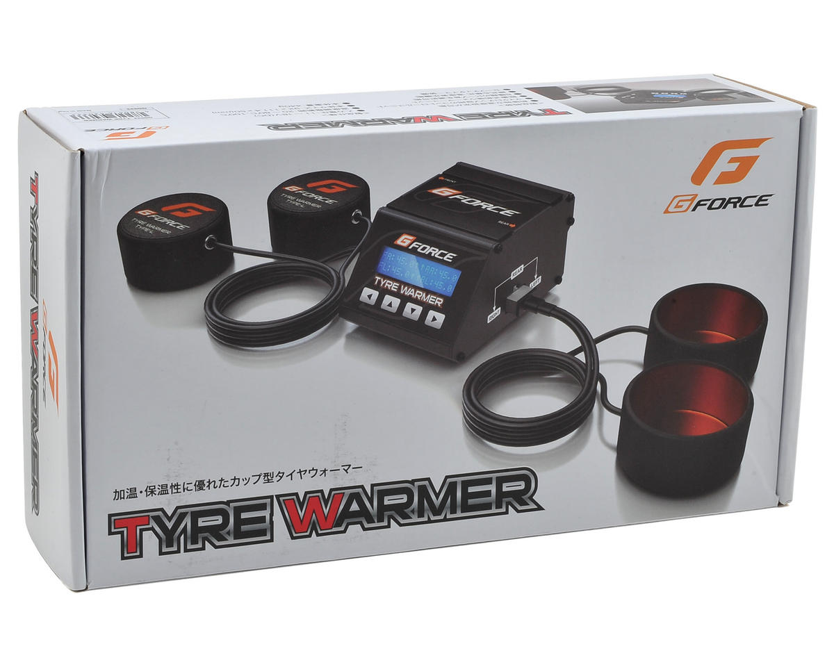 GForce 1/10 TC Rubber Tire Warmer