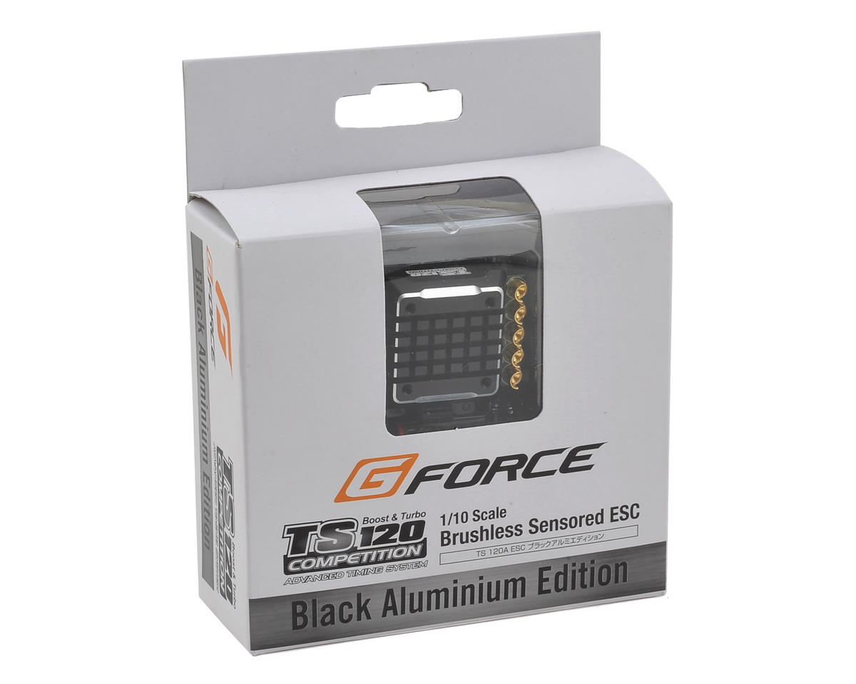 GForce TS120 Black Aluminum Edition 1/10 Sensored Brushless ESC