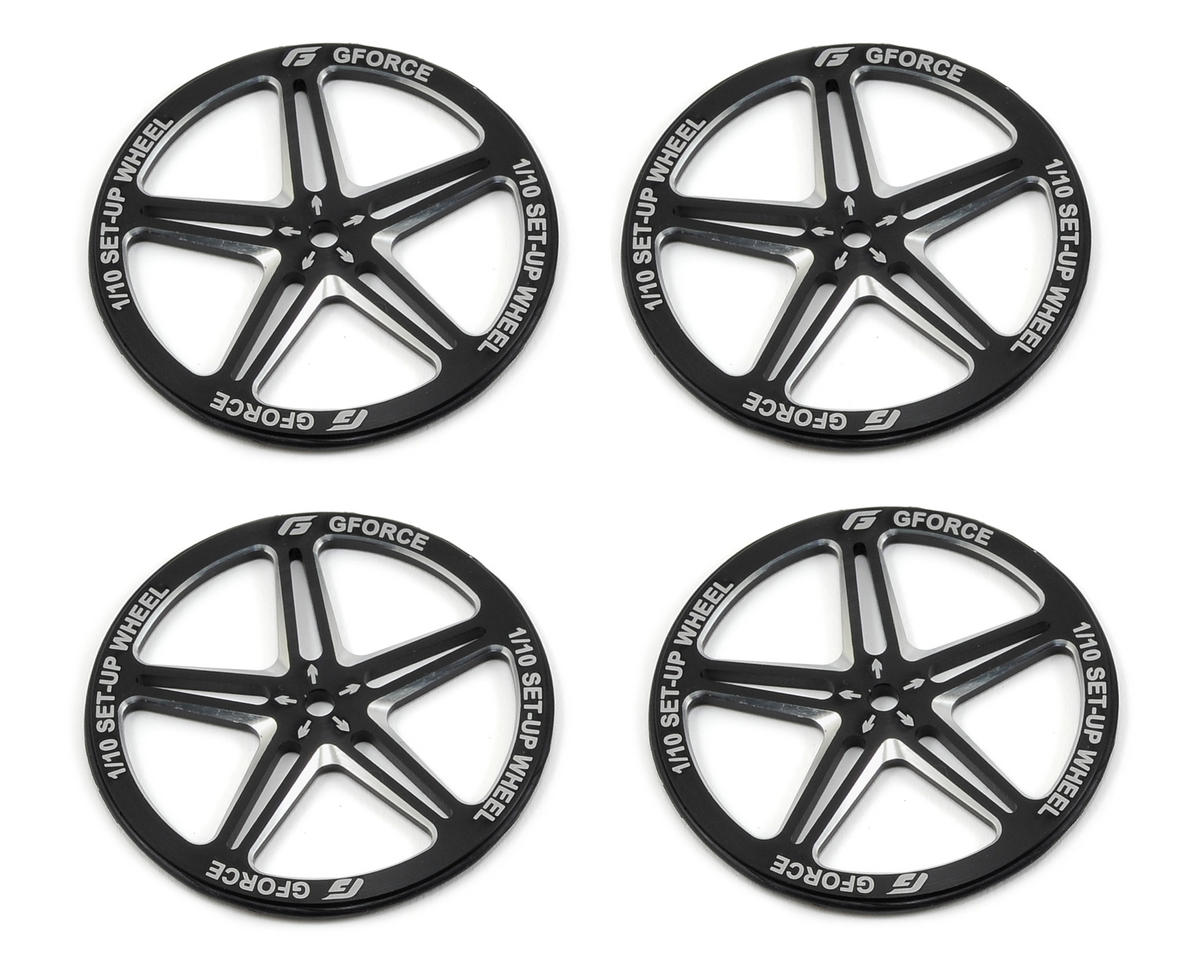 GForce 1/10 Setup Wheel (Black)