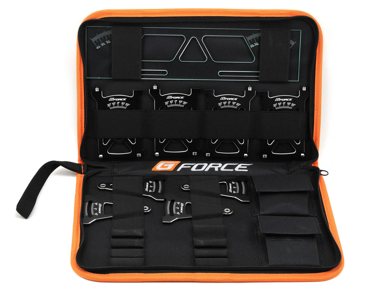 GForce 1/10 TC Setup System (Black) [GFC0109] | Cars \u0026 Trucks